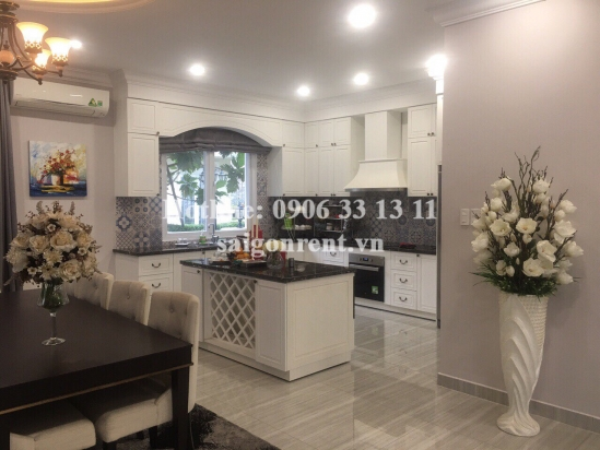 Nice villa 04 bedrooms for rent in Venica compound on Do Xuan Hop street, District 9 - 266sqm - 3000 USD