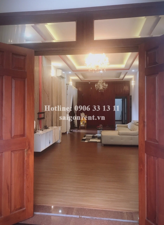 Villa 06 bedrooms for rent on Lo Lu street, Truong Thanh Ward, District 9 - 200sqm - 1500 USD( 35 millions VND)