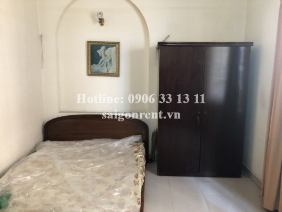 House(5x12m) with 4 bedrooms for rent on Nguyen Thi Minh Khai street, Da Kao Ward, District 1 - 240sqm - 2000 USD( 47 millions VND)
