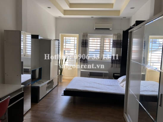 Studio 01 bedroom apartment with balcony for rent on Tran Huy Lieu street, ward 14, District 3 - 30sqm - 300 USD