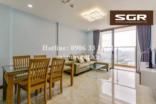 Kingston Residence building - Beautiful apartment 02 bedrooms on 20th floor for rent on Nguyen Van Troi street, Phu Nhuan District - 80sqm - 1200 USD