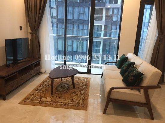 Vinhomes Golden River Building - Apartment 02 bedrooms on 41th floor for rent on Ton Duc Thang street, Center of District 1 - 68sqm - 1500 USD