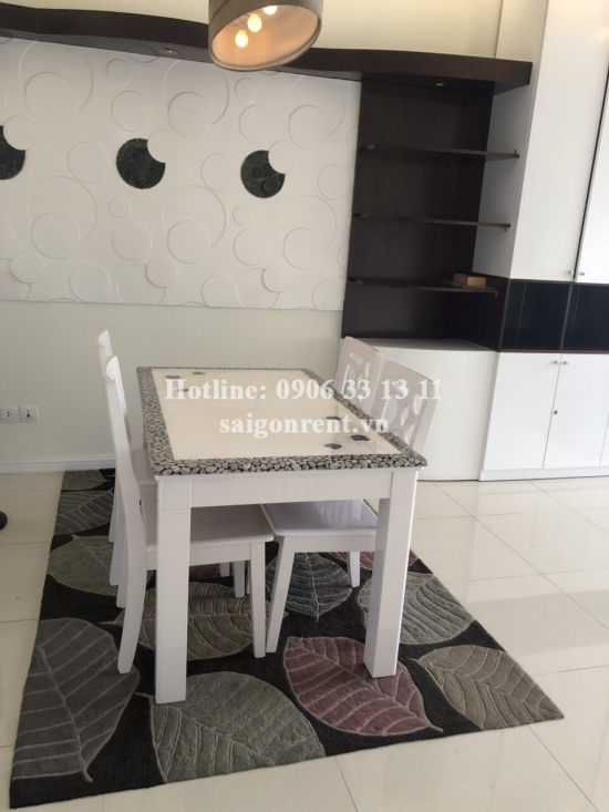 Saigonpearl Building - Apartment 02 bedrooms on 12th floor for rent on Nguyen Huu Canh street, District 2 - 90sqm - 1000 USD