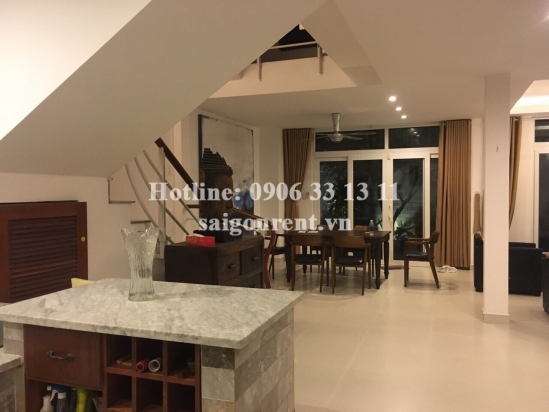 Villa 17m x 13m with 04 bedrooms on number 41 road, Thao Dien ward, District 2 - 500 sqm - 2500 USD