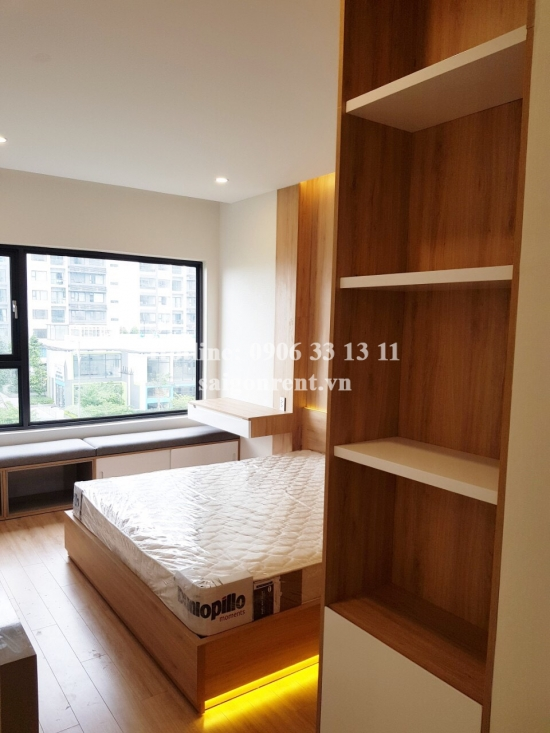 New City Thu Thiem Building - Apartment 02 bedrooms on 5th floor for rent at 17 Mai Chi Tho street, District 2 - 80sqm - 800 USD