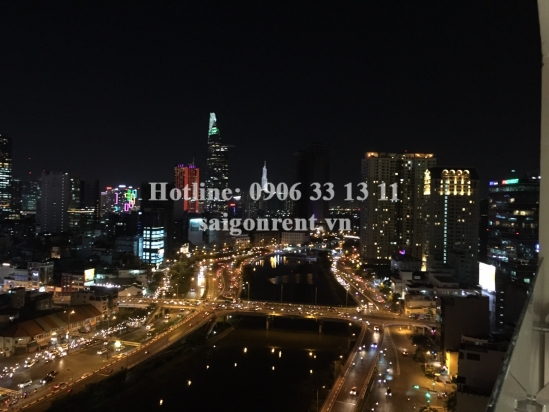 Millennium Building - Nice Apartment 03  bedrooms on 19th floor for rent at 132 Ben Van Don street, District 4 - 105sqm - 1600 USD