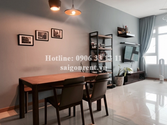 Saigonpearl Building - Apartment 02 bedrooms on 24th floor for rent on Nguyen Huu Canh street, District 2 - 86sqm - 950 USD