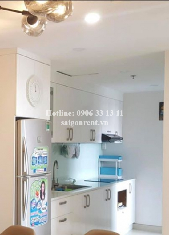Masteri Building - Apartment 02 bedrooms on 7th floor for rent on Ha Noi highway - District 2 - 67sqm - 850USD