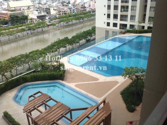 The Gold View Building - Apartment 02 bedrooms on 10th floor for rent on Ben Van Don Street, District 4 - 80sqm - 900 USD