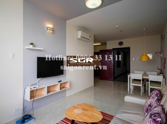 Riverside 90 Building - Beautiful apartment 01 bedroom on 26th floor for rent on Nguyen Huu Canh street, Binh Thanh District - 50sqm - 500 USD