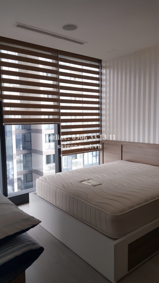 Vinhomes Golden River Building - Apartment 02 bedrooms on 36th floor for rent on Ton Duc Thang street, Center of District 1 - 68sqm - 1300 USD