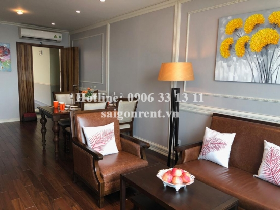 Leman Luxury building - Luxury Apartment 02 bedrooms on 22th floor for rent on Nguyen Dinh Chieu street, District 3 - 85sqm - 2000 USD