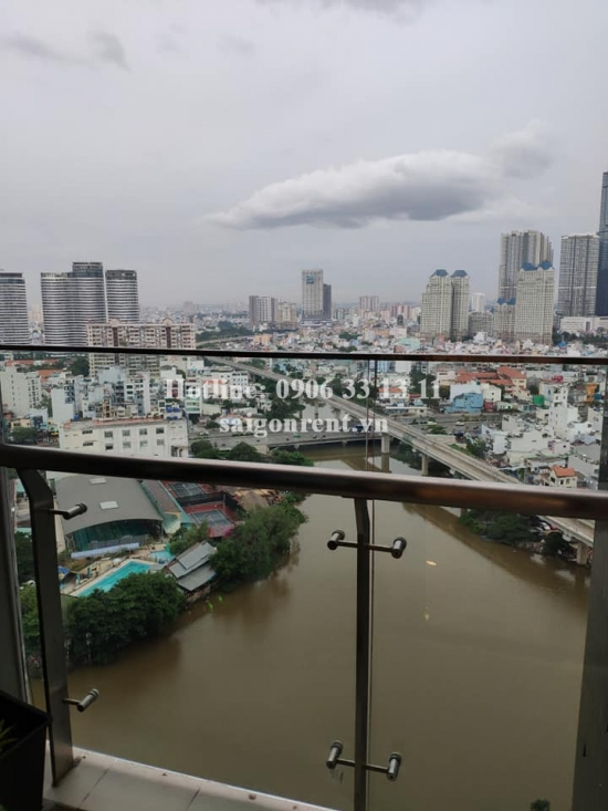 Vinhomes Golden River Building - Apartment 01 bedroom on 18th floor for rent on Ton Duc Thang street, Center of District 1 - 50sqm - 1100 USD