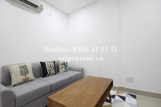 Serviced apartment 01 bedroom for rent on Quoc Huong street, District 2 - 50sqm - 600 USD