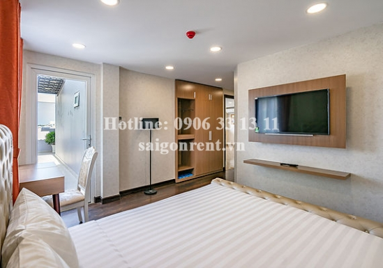Penthouse serviced apartment 02 bedrooms with balcony for rent on Huynh Tinh Cua street, District 3 - 105sqm - 1850 USD