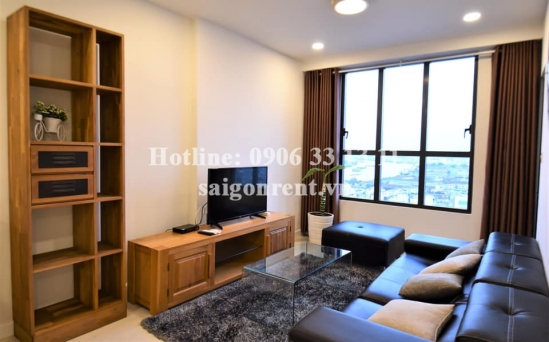 Icon 56 building - Apartment 02 bedrooms on 20th floor for rent on Ben Van Don street, District 4 - 79sqm - 1100 USD