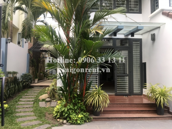 Nice villa 05 bedrooms for rent on Nguyen Luong Bang street, Phu My Ward, District 7 - 500sqm - 1800 USD