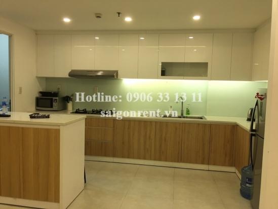 Tropic Garden Buidling - Apartment 03 bedrooms on 7th floor for rent in Nguyen Van Huong street, District 2- 115sqm - 1100 USD