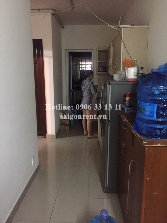My An Building - Apartment 02 bedrooms on 7th floor for rent on Number 19 street in Thu Duc District - 75sqm - 350 USD( 8 millions VND)