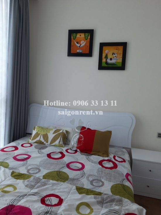 Vinhome Central Park - Apartment 02 bedrooms on  42th floor for rent on Nguyen Huu Canh street - Binh Thanh District - 79sqm - 1000 USD