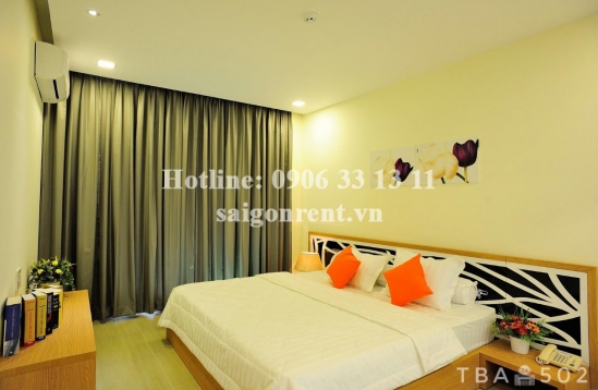 Serviced apartment 01 bedroom on 5th floor for rent on Quoc Huong street, District 2 - 55sqm - 700 USD