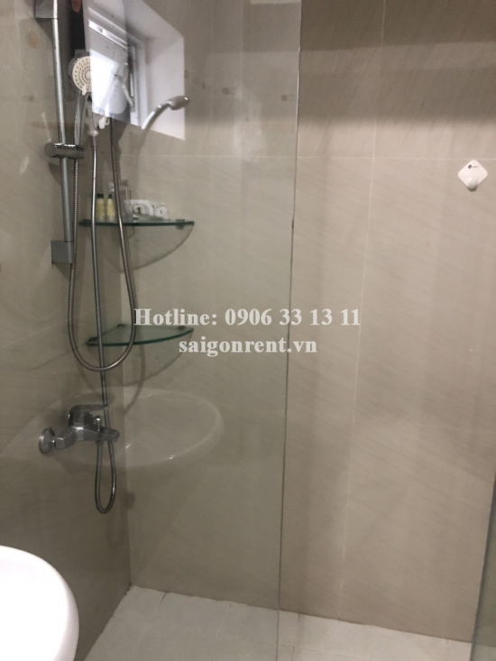 Serviced apartment 01 bedroom on 4th floor for rent on Huynh Man Dat street, Binh Thanh District - 60sqm - 600 USD