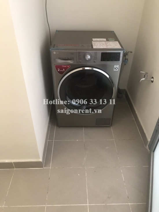 Diamond island Building - Apartment 02 bedrooms on 17th floor for rent on Mai Chi Tho street, District 2 - 88sqm -1300 USD