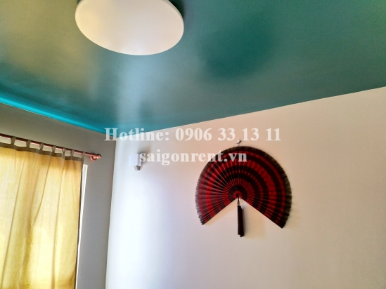 The Vista Verde Building - Nice Duplex apartment 02 bedrooms on 23th floor for rent on Dong Van Cong street, District 2 - 125sqm - 1100 USD( 25 millions VND)