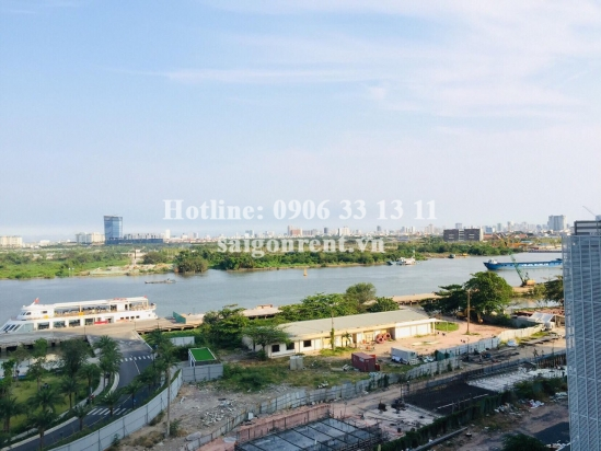 Vinhomes Golden River Building - Apartment 01 bedroom for rent on Ton Duc Thang street, Center of District 1 - 50sqm - 900 USD