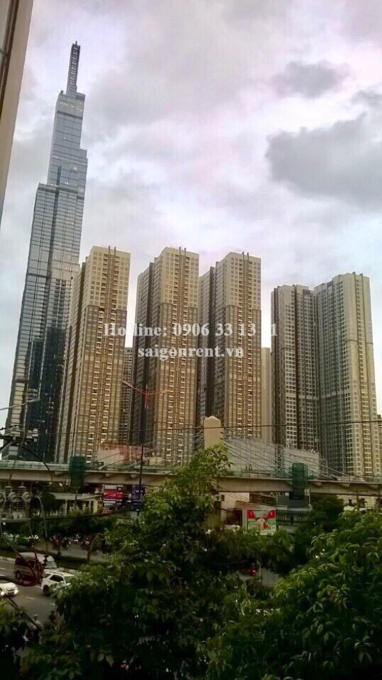 House(5x309m) with 03 floors for rent on Dien Bien Phu main street, Ward 25, Binh Thanh District - 450sqm - 3600 USD( 85 millions VND)