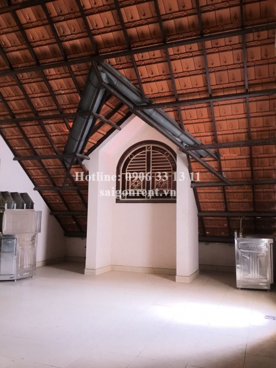 Villa 04 bedrooms for rent in Binh Quoi street, Binh Thanh District - 400sqm - 1900 USD