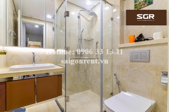 Vinhomes Golden River Building - Apartment 02 bedrooms on 30th floor for rent on Ton Duc Thang street, Center of District 1 - 72sqm - 1100 USD