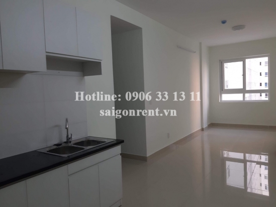 Topaz Home building- Apartment 02 bedrooms unfurniture on 5th floor for rent at 102 Phan Van Hon street, District 12 - 60sqm - 300 USD