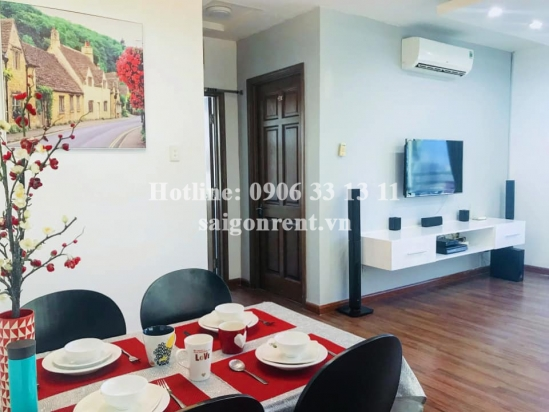 Nice serviced apartment 02 bedrooms for rent on Ky Dong street