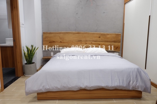 Nice serviced studio apartment with balcony for rent on Tran Nao street, Binh An Ward, District 2 - 40sqm - 550 USD