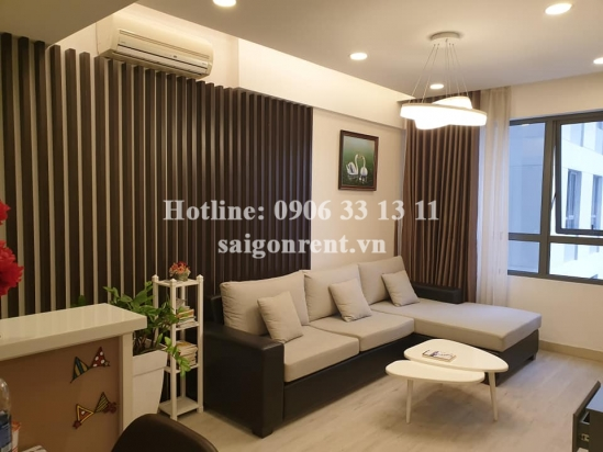 Masteri Building - Apartment 02 bedrooms on 32th floor for rent on Ha Noi highway - District 2 - 70sqm - 850 USD