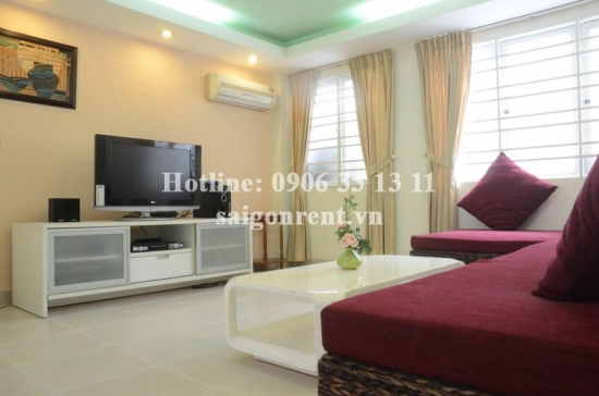 Nice house 4,2  x 15m, 3rd floor with 04 bedrooms for rent on Bach Dang street, ward 24, Binh Thanh district - 1200 USD