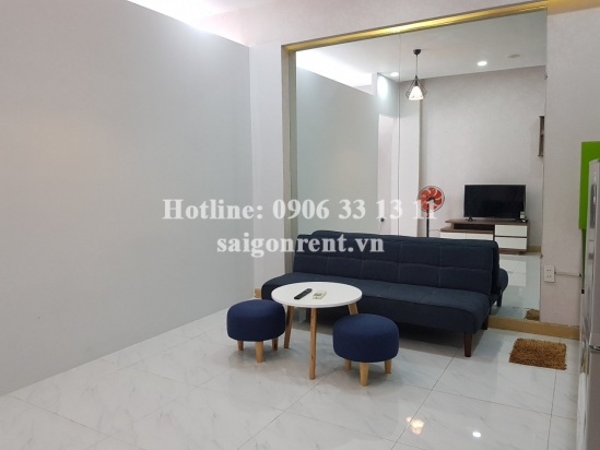 Serviced apartment 01 bedroom with balcony for rent on Dien Bien Phu street, Binh Thanh District - 40sqm - 450 USD( 10.5 millions VND)