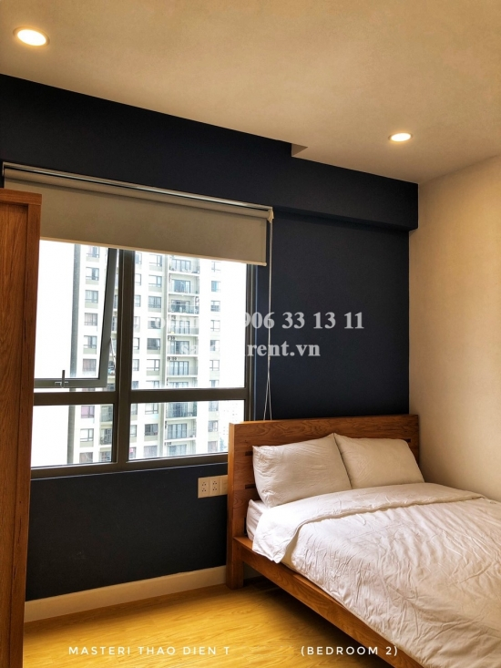 Masteri Building - Apartment 02 bedrooms on 29th floor for rent on Ha Noi highway - District 2 - 67sqm - 850 USD