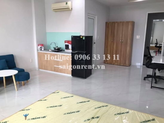 Serviced studio apartment 01 bedroom with balcony for rent on Quoc Huong street, District 2 - 40sqm - 450 USD