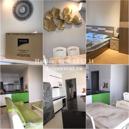 Diamond island building - Apartment 02 bedrooms for rent on Mai Chi Tho street, District 2 - 90sqm -1200 USD