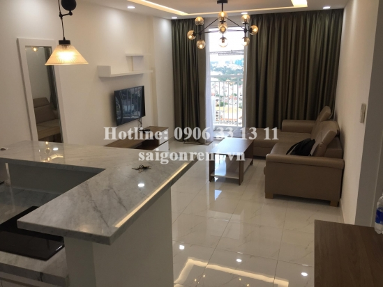 Tropic Garden Buidling - Apartment 02 bedrooms on 21th floor for rent on Nguyen Van Huong street, District 2- 65sqm - 750 USD