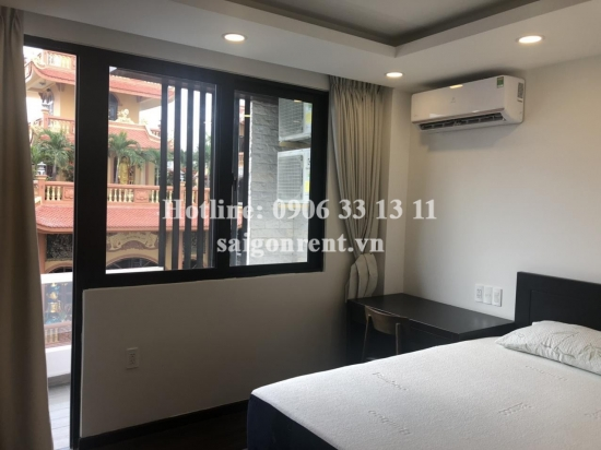 Serviced apartment 01 bedroom with balcony for rent on Nguyen Duy street, Binh Thanh District - 50sqm - 550 USD