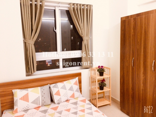 Topaz Home building- Apartment 03 bedrooms for rent at 102 Phan Van Hon street, District 12 - 70sqm - 450 USD