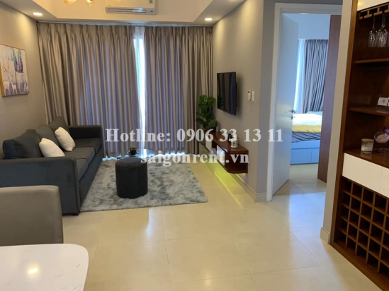 Masteri Building - Apartment 02 bedrooms on 9th floor for rent on Ha Noi highway - District 2 - 65sqm - 800 USD