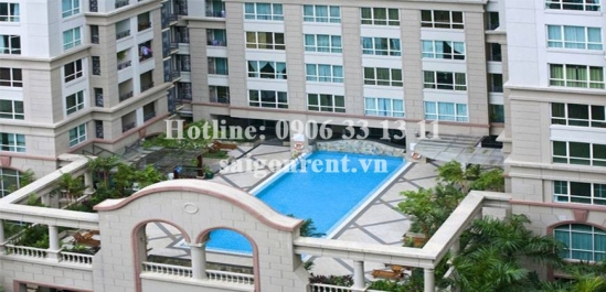 The Manor 1 Building - Nice apartment 02 bedrooms for rent on Nguyen Huu Canh street, Binh Thanh District - 100sqm - 900 USD