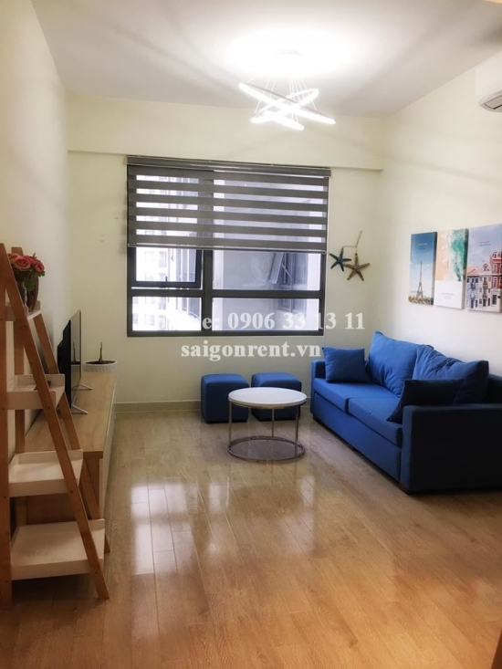 Masteri Building - Apartment 01 bedroom on 29th floor for rent on Ha Noi highway - District 2 - 50sqm - 650 USD