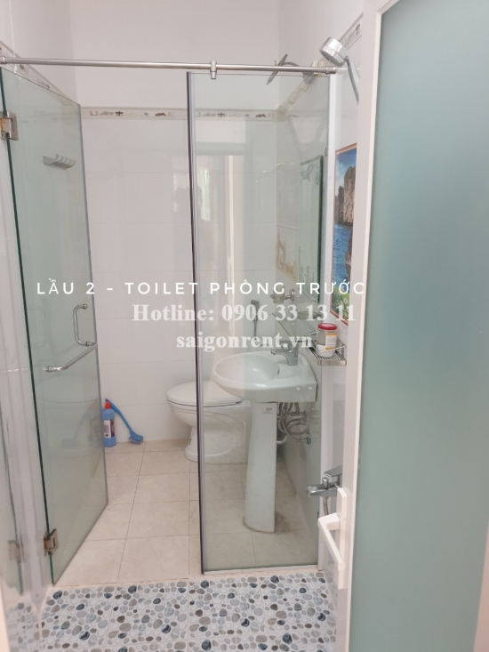House(3.5x12.5m) with 04 bedrooms for rent on Truong Sa Main street, Binh Thanh District - 130sqm - 1200 USD( 28 millions VND)