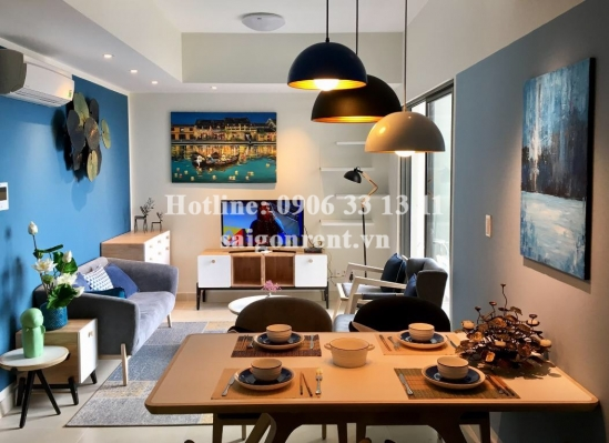 Masteri Building - Apartment 02 bedrooms on 27th floor for rent on Ha Noi highway - District 2 - 74sqm - 900 USD