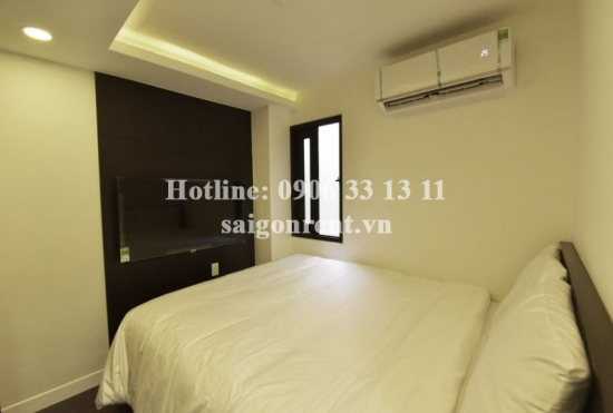 Serviced apartment 02 bedrooms for rent on Nguyen Thong street, District 3 - 75sqm - 750 USD